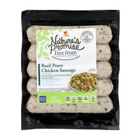 Nature's Promise Free from Chicken Sausage Basil Pesto - 5 ct Fresh