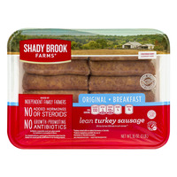 Shady Brook Farms Breakfast Turkey Sausage Links Original Lean - 12 ct
