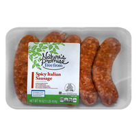 Nature's Promise Free from Pork Italian Sausage Spicy - 5 ct Fresh