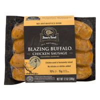 Boar's Head Chicken Sausage Blazing Buffalo - 4 ct