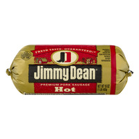 Jimmy Dean Premium Pork Sausage Roll Hot