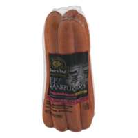 Boar's Head Deli Beef Frankfurters Natural Casing - 7 ct
