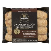 Boar's Head Chicken Sausage Uncured Bacon All Natural - 4 ct