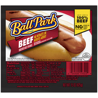 Ball Park Franks Beef - 8 ct