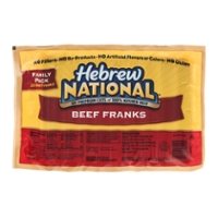Hebrew National Beef Franks - 20 ct