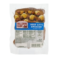 Hillshire Farm Lit'l Smokies Beef Cocktail Links - apx 35 ct