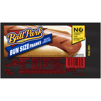 Ball Park Franks Bun Size - 8 ct