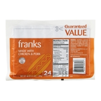 Guaranteed Value Franks - 24 ct