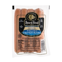 Boar's Head Pork & Beef Frankfurters Skinless - 10 ct
