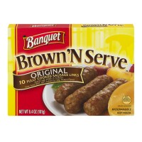 Banquet Brown 'N Serve Sausage Links Original - 10 ct Frozen