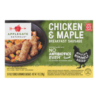 Applegate Naturals Breakfast Sausage Chicken & Maple