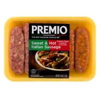 Premio Italian Sausage Sweet & Hot Combo Pack - 6 ct
