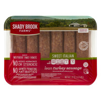 Shady Brook Farms Turkey Italian Sausage Sweet - 6 ct Fresh