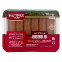 Shady Brook Farms Turkey Italian Sausage Hot - 6 ct Fresh