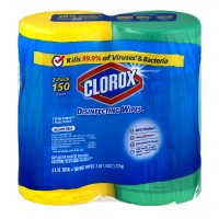Clorox Disinfecting Wipes Fresh Scent & Crisp Lemon Twin Pack