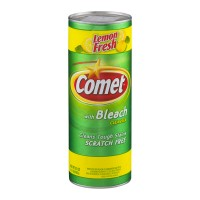 Comet with Bleach Cleanser Lemon Fresh Scratch Free (Scouring Powder)