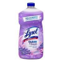 Lysol Clean & Fresh Multi Surface Cleaner Lavender & Orchid Essence