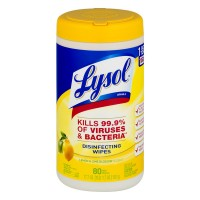 Lysol Disinfecting Wipes Lemon & Lime Blossom Scent