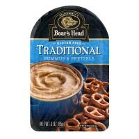 Boar's Head Traditional Hummus & Pretzels Gluten Free