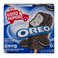 Good Humor Oreo Frozen Dessert Bars - 6 ct