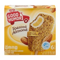 Good Humor Frozen Dessert Bar Toasted Almond - 6 ct