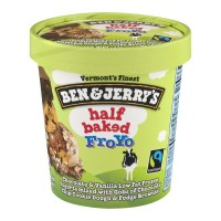 Ben & Jerry's FroYo Frozen Yogurt Half Baked Low Fat