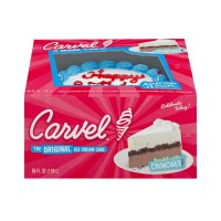 Carvel Ice Cream Cake Chocolate & Vanilla Layers Round Small