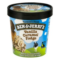 Ben & Jerry's Ice Cream Vanilla Caramel Fudge