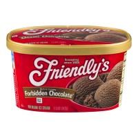 Friendly's Ice Cream Forbidden Chocolate