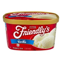 Friendly's Ice Cream Rich & Creamy Vanilla