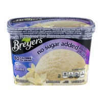 Breyers Frozen Dairy Dessert Vanilla No Sugar Added