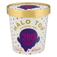 Halo Top Light Ice Cream Birthday Cake
