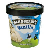 Ben & Jerry's Ice Cream Vanilla