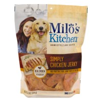 Milo's Kitchen Dog Treats Home Style Chicken Jerky Strips