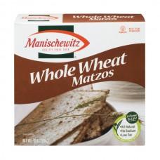 Manischewitz Matzos Whole Wheat Sodium Free