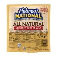 Hebrew National All Natural Uncured Beef Franks 100% Kosher Beef