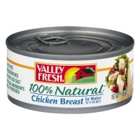 Valley Fresh Chicken Breast in Broth w/Rib Meat 100% Natural