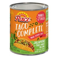 Pace Taco Complete Taco Meat Filling Jalapeno