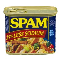 Spam 25% Reduced Sodium