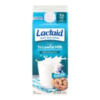 Lactaid Milk Low Fat 1% 100% Lactose Free