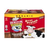 Horizon Organic Milk Chocolate Low Fat - 12 pk Unrefrigerated
