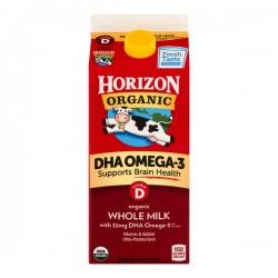 Horizon Organic Milk Whole Vitamin D DHA Omega-3