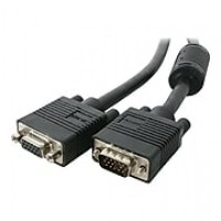 StarTech 6' Coax High Resolution HD15 Male/Female VGA Monitor Extension Cable