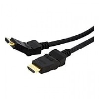 StarTech 6' 180 Deg Rotating High Speed Male/Male HDMI Cable, Black
