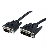StarTech 10' DVI To VGA Male/Male Display Monitor Cable, Black