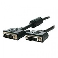 StarTech 6' Single Link DVI-D Male/Female Monitor Extension Cable, Black