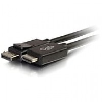 C2G® 54326 6' DisplayPort to HDMI Male/Male Adapter Cable, Black