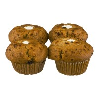 Jonathan Lord Muffins Carrot Cream Cheese Jumbo - 4 ct