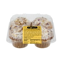 Jonathan Lord Cranberry Orange Jumbo Muffins - 4 ct