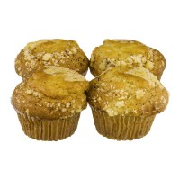 Jonathan Lord Muffins Lemon Poppy Yogurt Jumbo - 4 ct